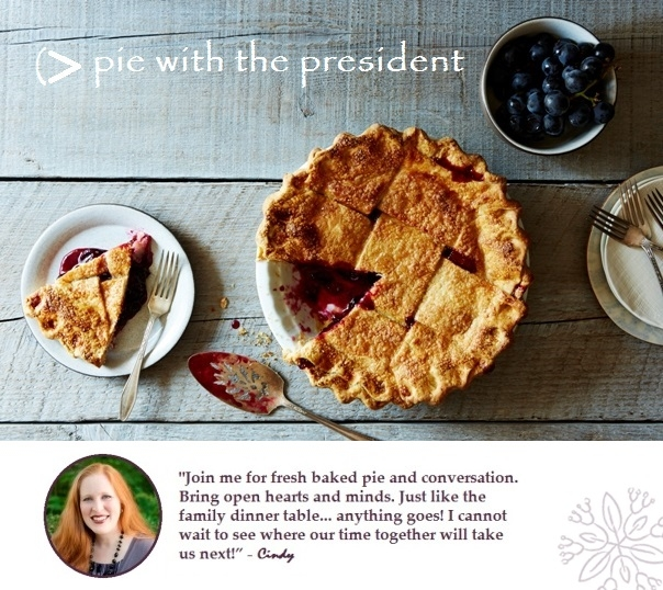 Pie with the President